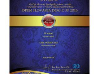 Open Slovakia Dog Cup 2016