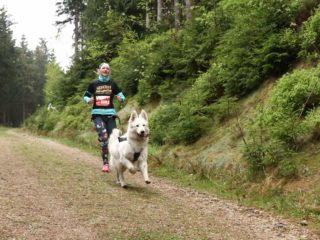 Canicross race Leskros – mountain Ještěd 3/4